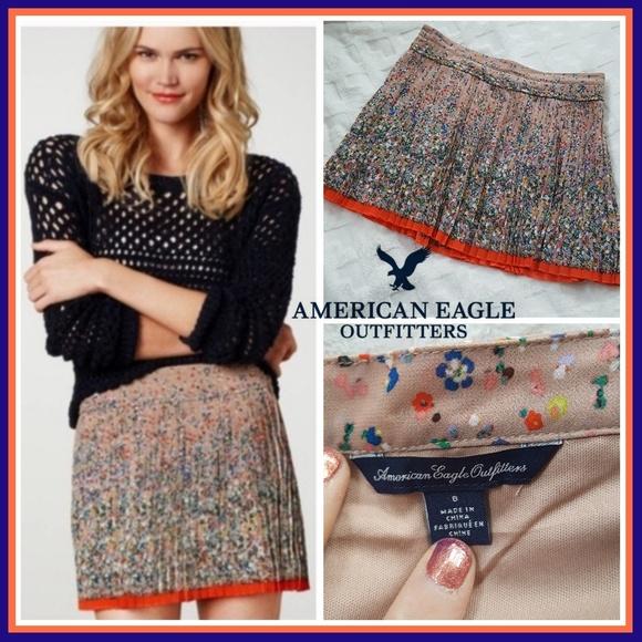 American Eagle Outfitters Dresses & Skirts - (N.W.O.T.) AEO Pleated Mini Skirt